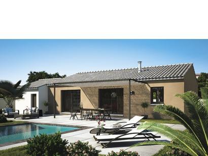 Modèle de maison Amandine GA V1 100 Design 3 chambres  : Photo 1