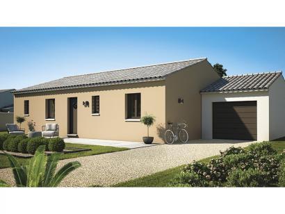 Modèle de maison Amandine GA V1 100 Design 3 chambres  : Photo 2