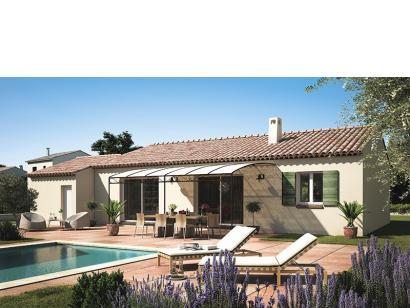 Modèle de maison Amandine GA V1 120 Tradition 4 chambres  : Photo 1