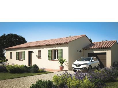 Modèle de maison Amandine GA V1 100 Tradition 3 chambres  : Photo 2