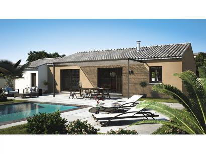 Modèle de maison Amandine GA V1 120 Design 4 chambres  : Photo 1