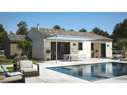 Modèle de maison Amandine GA V2 100 Design 3 chambres  : Photo 1