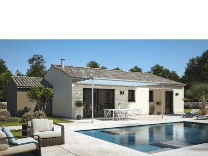 Modèle de maison Amandine GA V2 80 Design 3 chambres  : Photo 1