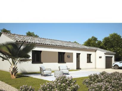 Modèle de maison Amandine GA V2 80 Design 3 chambres  : Photo 2
