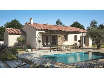 Modèle de maison Amandine GA V2 80 Tradition 3 chambres  : Photo 1