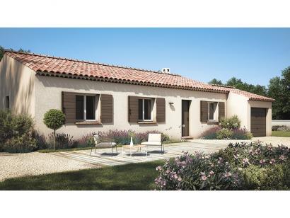 Modèle de maison Amandine GA V2 80 Tradition 3 chambres  : Photo 2