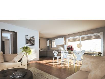 Modèle de maison Amandine GA V2 90 Design 3 chambres  : Photo 3
