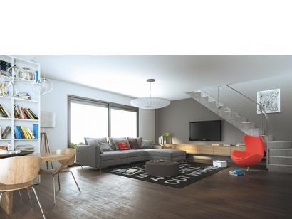 Modèle de maison Cloé 150 Design Toit 3 pentes 4 chambres  : Photo 3