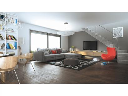 Modèle de maison Cloé 150 Design Toit 4 pentes 4 chambres  : Photo 3