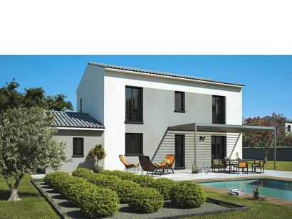 Modèle de maison Elodie 100 Design 3 chambres  : Photo 1