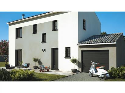 Modèle de maison Elodie 100 Design 3 chambres  : Photo 2