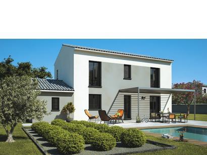 Modèle de maison Elodie 120 Design 4 chambres  : Photo 1