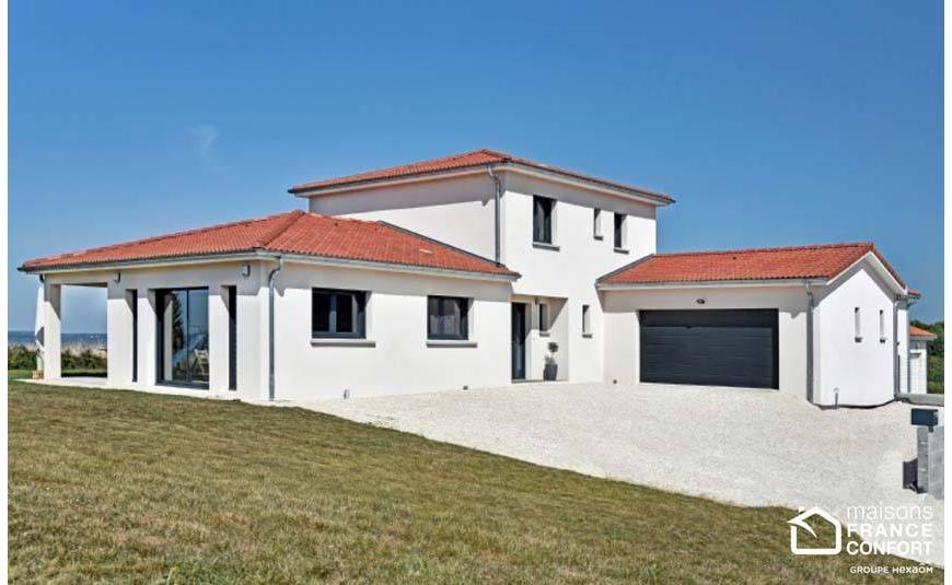 Maison contemporaine – Maisons France Confort