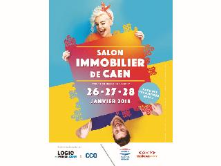 Du 26 au 28 janvier 2018 rendez-vous au Salon de l'Immobilier de Caen