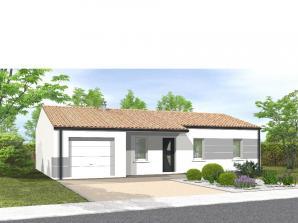 Maison neuve aux Landes-Genusson (85130)<span class='prix'> 143000 €</span> 143000