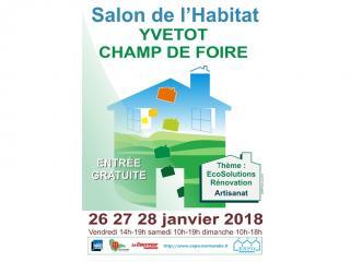 RDV au Salon de l'Habitat d'Yvetot (76) du 26 au 28 janvier 2018