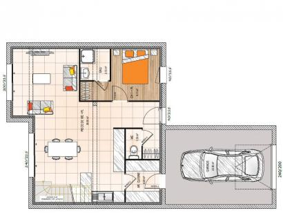 Maison neuve  à  Cholet (49300)  - 218400 € * : photo 1