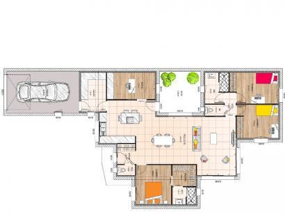 Maison neuve  à  Cholet (49300)  - 264600 € * : photo 1