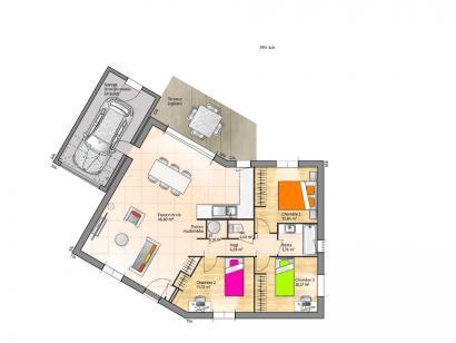 Maison neuve  au  Gué-de-Velluire (85770)  - 145786 € * : photo 1