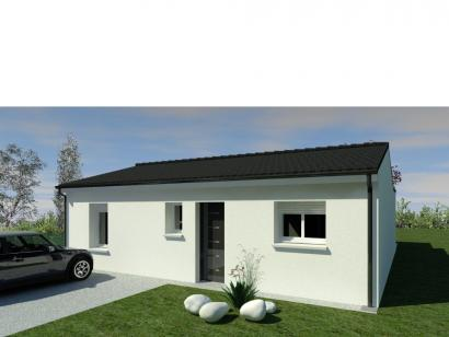 Modèle de maison Maison 70m2 - 2CH - (PP AN 10085816) 2 chambres  : Photo 1