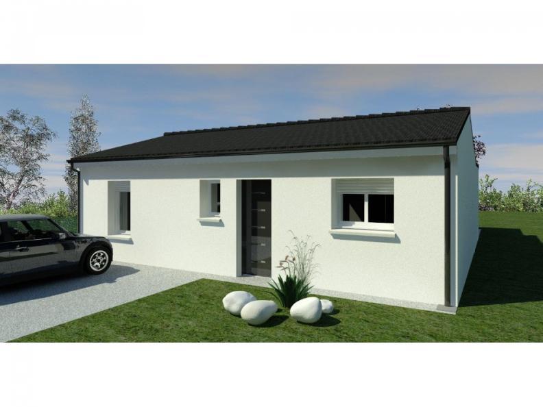 Modèle de maison Maison 70m2 - 2CH - (PP AN 10085816) : Vignette 1