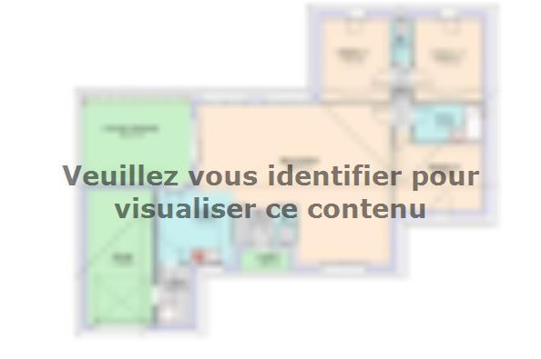 Plan de maison Evolution  : Photo 1