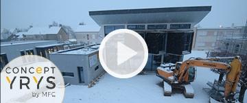 Time-lapse du chantier du Concept YRYS