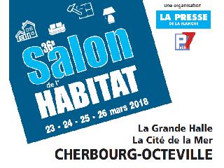 Du 23 au 26 mars 2018 rendez-vous au Salon de l'Habitat de Cherbourg