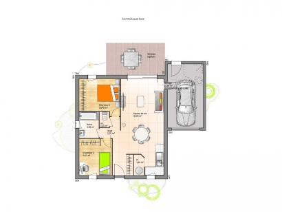 Maison neuve  à  Mouilleron-le-Captif (85000)  - 161500 € * : photo 1