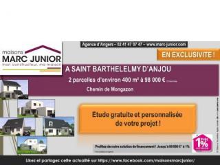 Deux Terrains à Saint Barthélémy d'Anjou