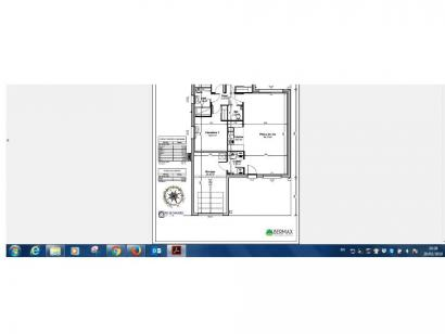Plan de maison Maison 88 m2 - 3CH - Garage - P100089MEU 3 chambres  : Photo 1