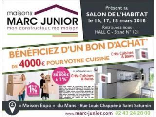 SALON DE L'HABITAT AU MANS DU 16 au 18 MARS 2018