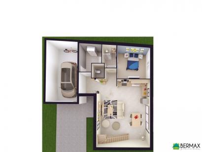Modèle de maison Vente maison neuve 3 chambres - Résidence CLOS CHA 3 chambres  : Photo 2