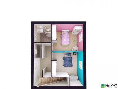 Modèle de maison Vente maison neuve 3 chambres - Résidence CLOS CHA 3 chambres  : Photo 3