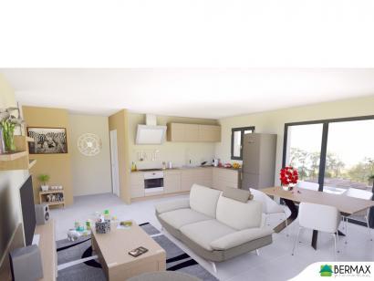 Modèle de maison Vente maison neuve 3 chambres - Résidence CLOS CHA 3 chambres  : Photo 4