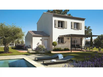 Modèle de maison Magali 90 Tradition 3 chambres  : Photo 1