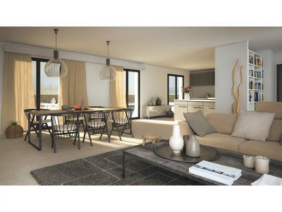 Modèle de maison Marie 100 Design 3 chambres  : Photo 3