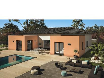 Maison A Patio modèle de maison patio 140 design - 3 chambres - les maisons de manon