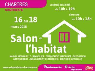 Salon de l'Habitat de Chartres (28) du 16 au 18 mars