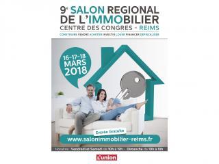 Salon de l'Immobilier de Reims (51) du 16 au 18 mars