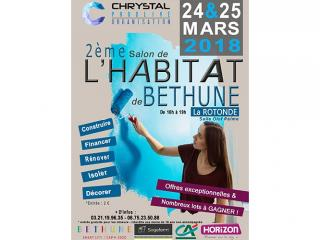 Salon de l'Habitat de Béthune (62) les 24 et 25 mars 2018