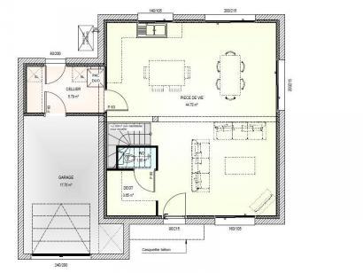 Maison neuve  à  La Poitevinière (49510)  - 170549 € * : photo 2
