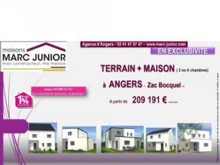 Deux terrains d'environ 300 m² à ANGERS