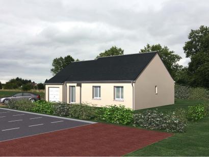 Modèle de maison Pinault 3 chambres  : Photo 1