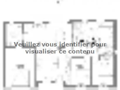 Plan de maison Pinault 3 chambres  : Photo 1