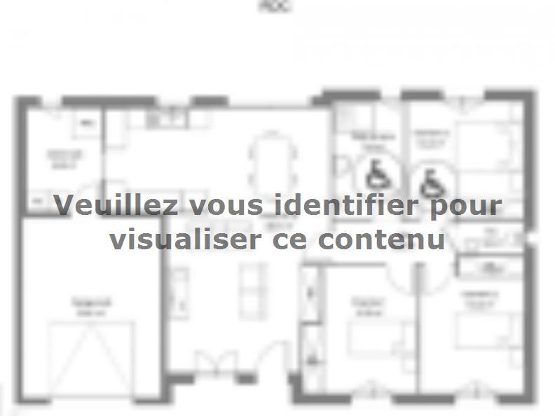 Plan de maison Pinault : Vignette 1