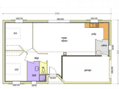 Maison neuve  à  La Barre-de-Monts (85550)  - 187564 € * : photo 1