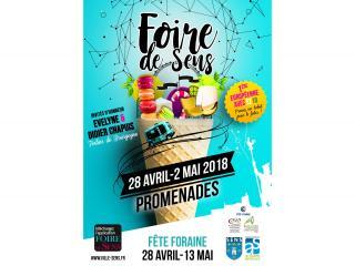 Foire de Sens (89) du 28 avril au 2 mai