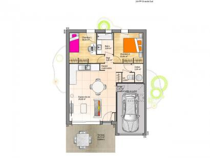 Maison neuve  à  Venansault (85190)  - 141800 € * : photo 1