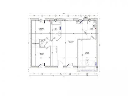 Maison neuve  à  Mosnes (37530)  - 148000 € * : photo 1